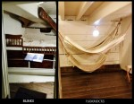 bunks hammocks